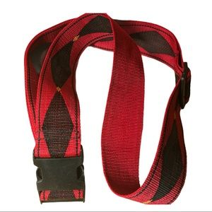 Saddlery Red D Strap for Horseback
